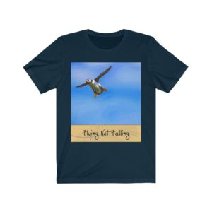 Unisex Jersey Short Sleeve Tee – Flying Not Falling!