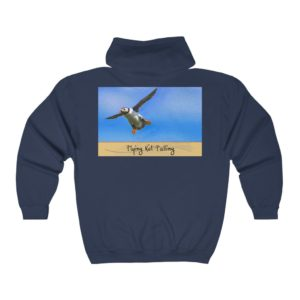 Unisex Heavy Blend™ Full Zip Hooded Sweatshirt – Flying Not Falling