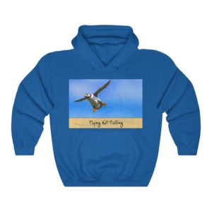 Unisex Heavy Blend™ Hooded Sweatshirt – Flying Not Falling!