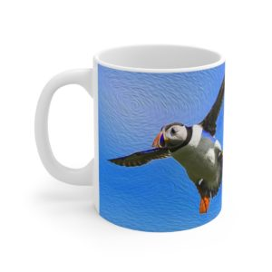 11oz Mug – Flying Not Falling