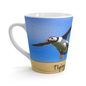 Latte mug – Flying Not Falling