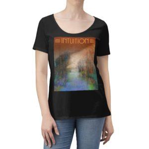 Women's Scoop Neck T-shirt – Intuition