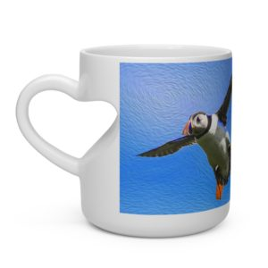 Heart Shape Mug – Flying Not Falling