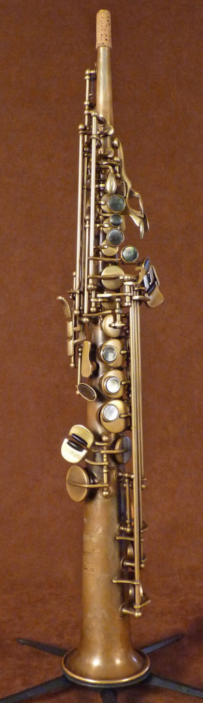 first soprano saxophone